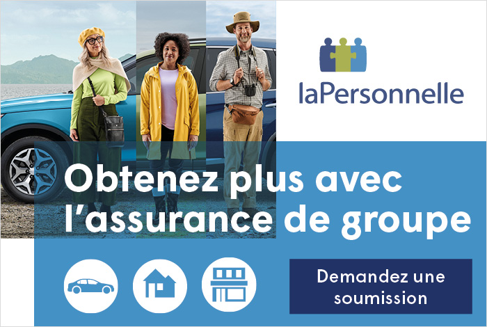 Obtenez plus en faisant partie d'un groupe – Profitez d'un service hors pair avec l'assurance auto, habitation et entreprise de La Personnelle