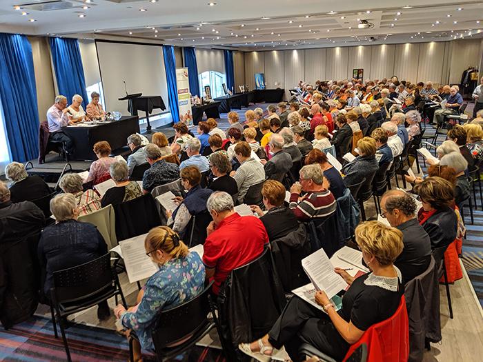 Connaissez-vous les assemblées générales régionales à l'AREQ?