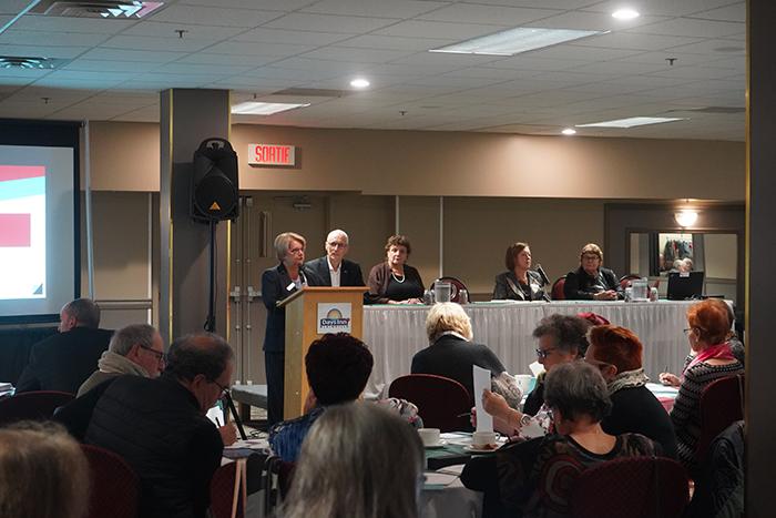 Tournée du conseil exécutif de l'AREQ : une belle rencontre à Blainville