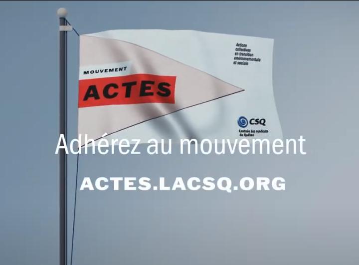 Session nationale du Mouvement ACTES