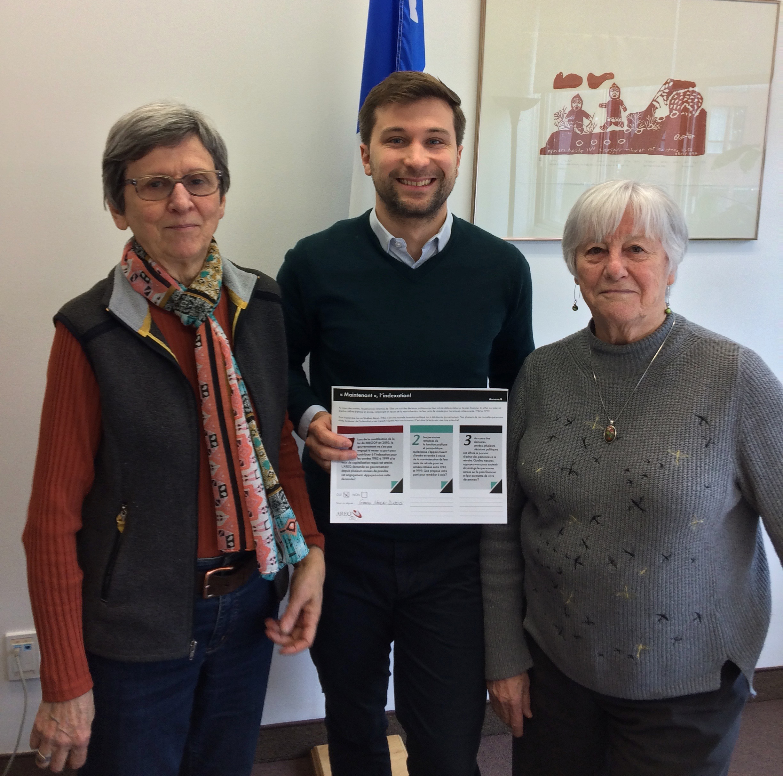 Rencontre avec Gabriel Nadeau-Dubois, député de Gouin