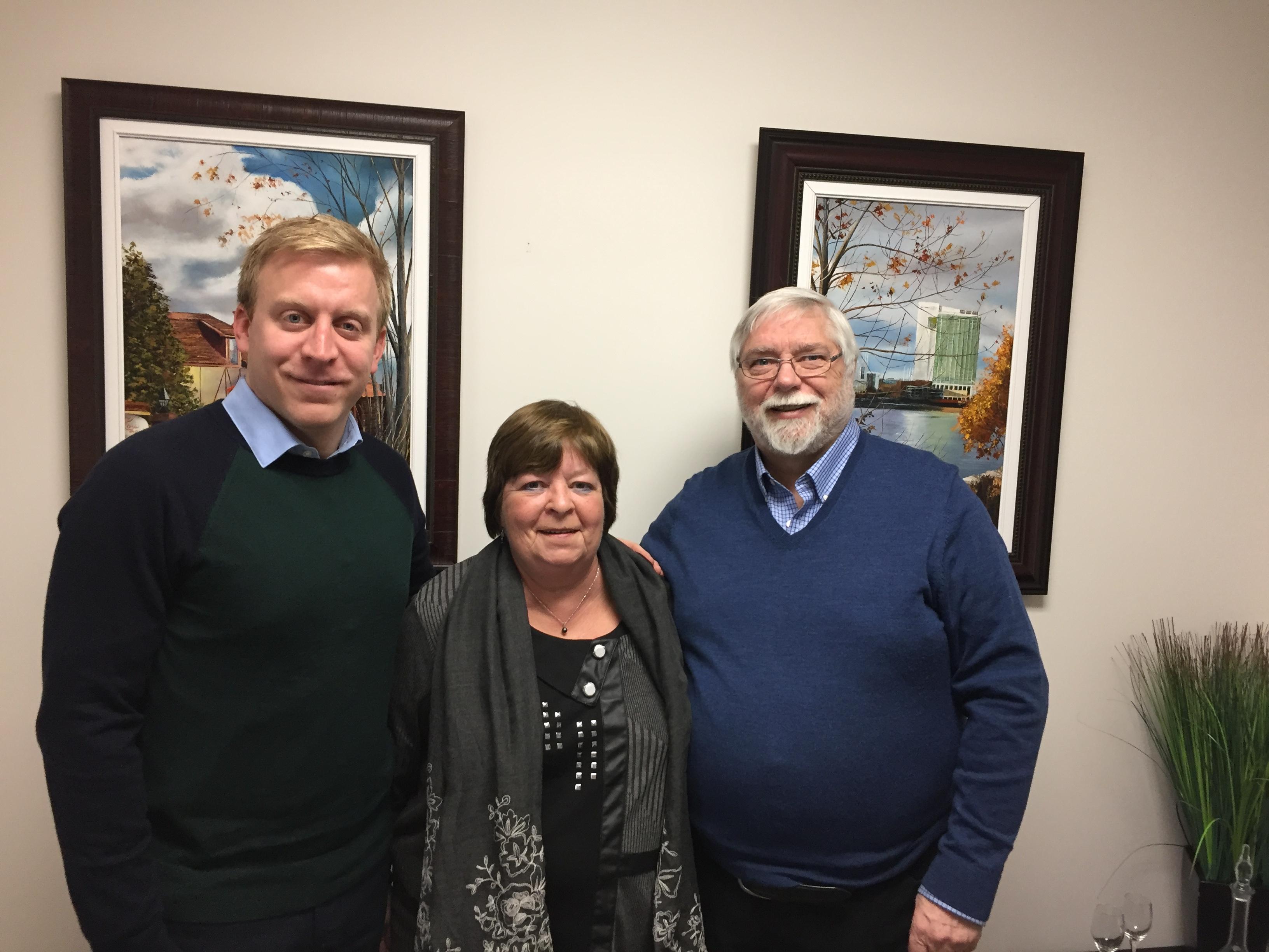 L'AREQ Outaouais sensibilise le député de Chapleau sur les enjeux de l'indexation