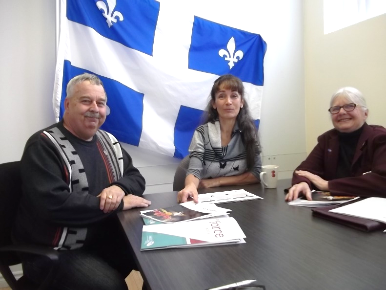 L'AREQ secteur Shawinigan s'entretient avec la députée du Comté Laviolette-Saint-Maurice sur le dossier de l'indexation