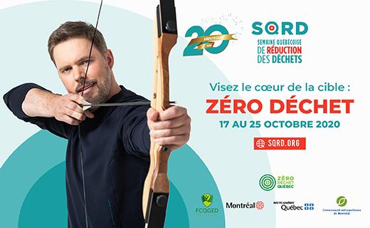 Pour que la Semaine québécoise de réduction des déchets ne dure pas qu'une semaine!