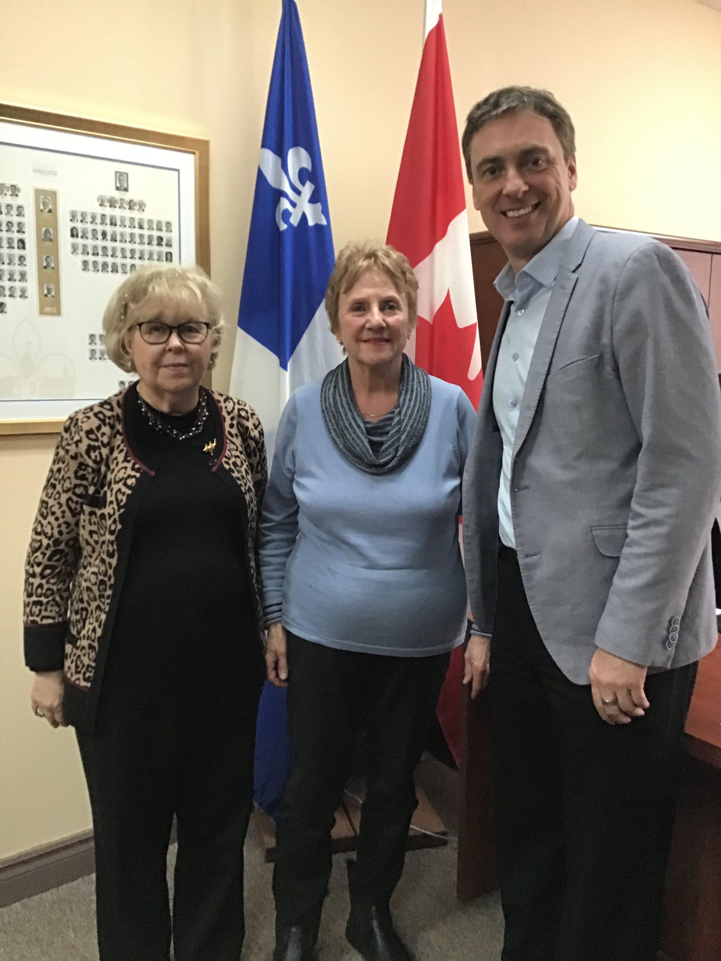 Le secteur Montréal-Nord à la rencontre du député Marc Tanguay dans le cadre de l'opération « Maintenant », l'indexation!
