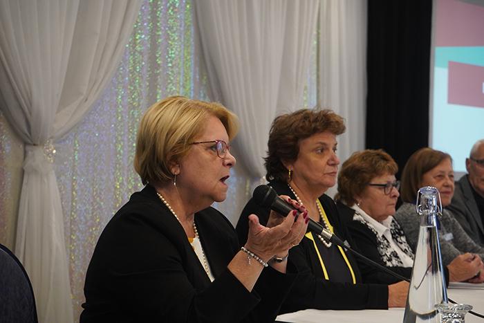 Le conseil exécutif de l'AREQ rencontre les personnes déléguées de l'Île de Montréal