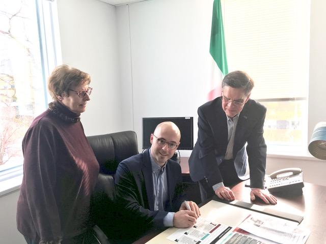 L'AREQ secteur Cap-Diamant rencontre Sol Zanetti pour discuter du dossier de l'indexation