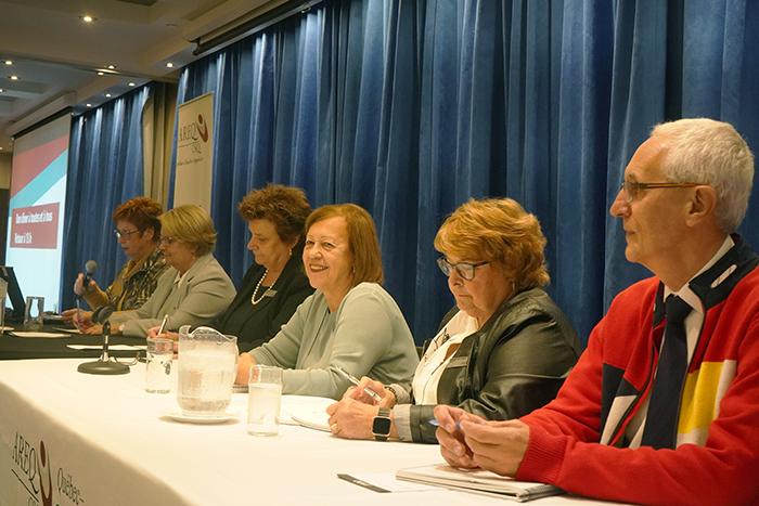 Le conseil exécutif de l'AREQ rencontre les délégués de Québec–Chaudière-Appalaches en vue du congrès 2020