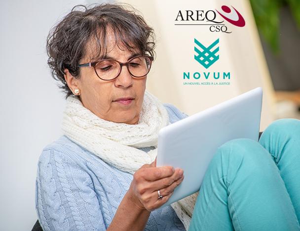 Service de consultations juridiques gratuites et illimitées pour les membres de l'AREQ : Entente renouvelée pour deux ans avec Novum