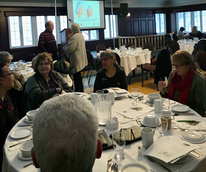 Conférence sur les assurances à la retraite dans la région Cœur et Centre-du-Québec