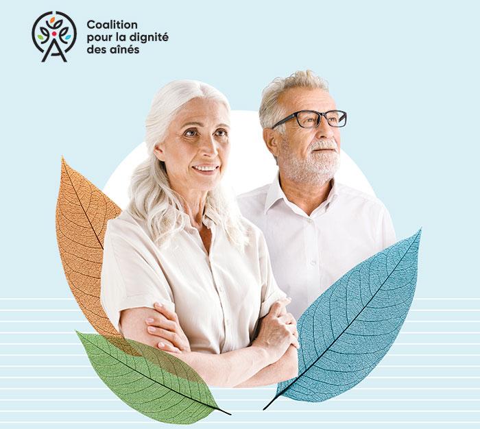 L'AREQ au cœur d'une Coalition pour la dignité des aînés : 38 solutions proposées pour y parvenir
