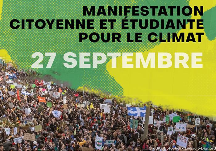 27 septembre – Mobilisation citoyenne pour le climat