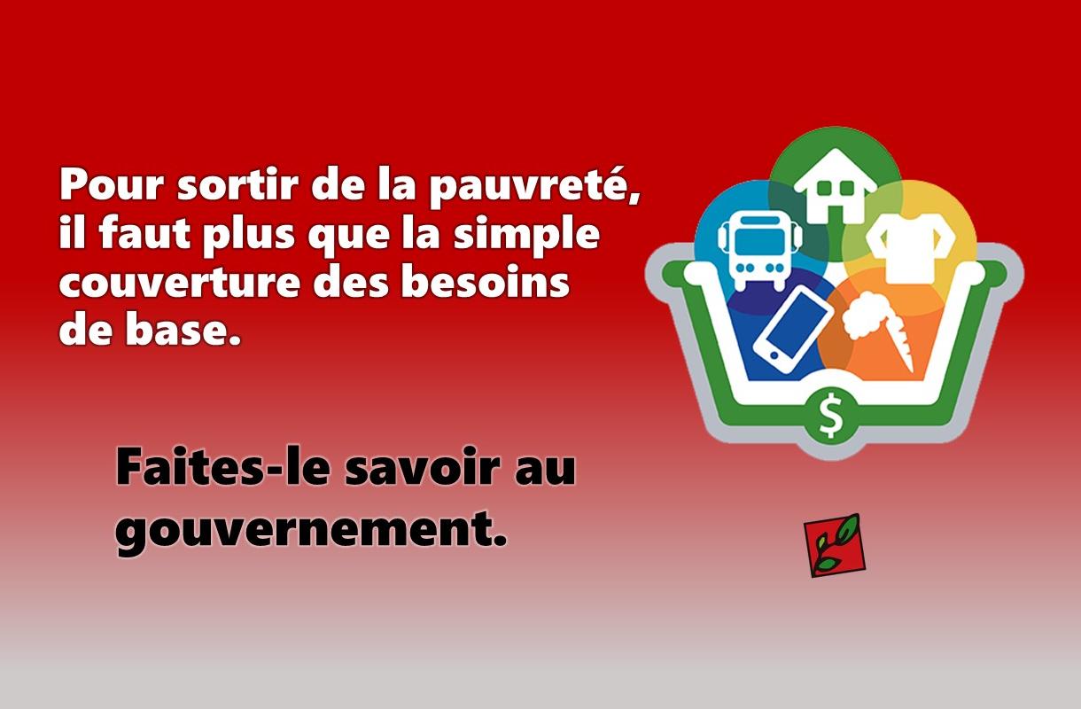 Le Collectif pour un Québec sans pauvreté invite la population à répondre à une consultation en ligne